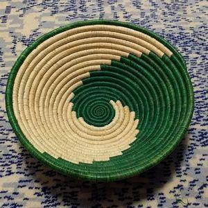 Other - Grass basket spiral bowl
